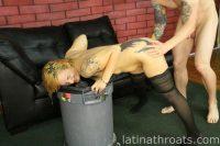 Latina Throats Hunter Paige