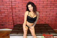 Latina Throats Emelie Valentine